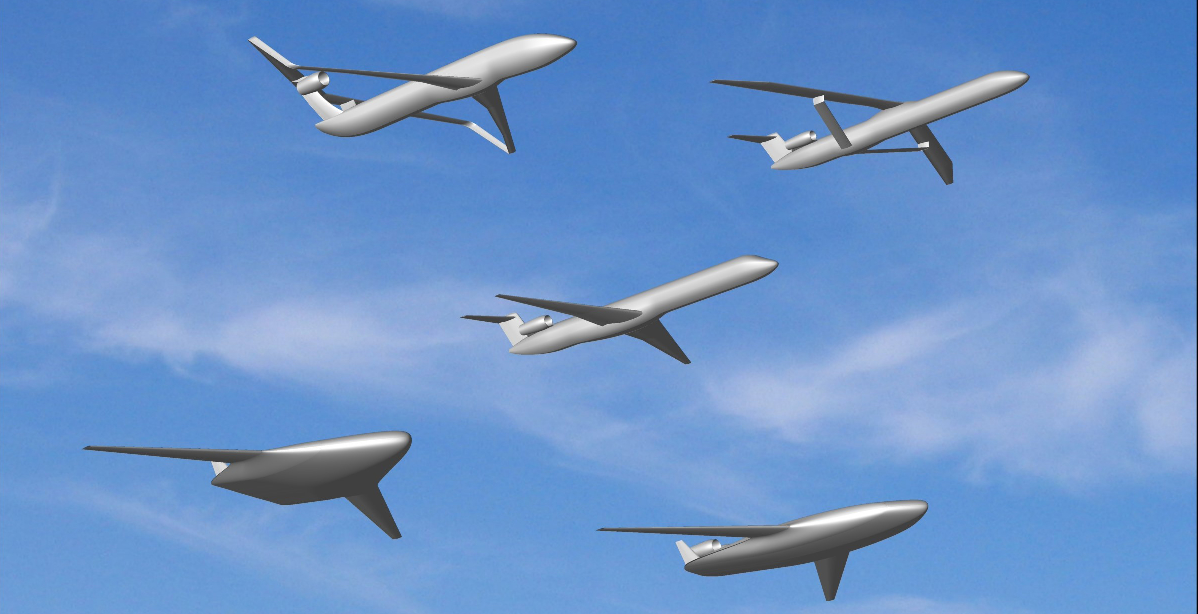Unconventional aircraft configurations could be critical to achieving improved fuel efficiency and reduced emissions.