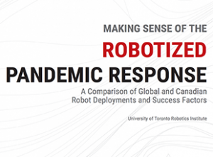 Robotized Pandemic Response Whitepaper